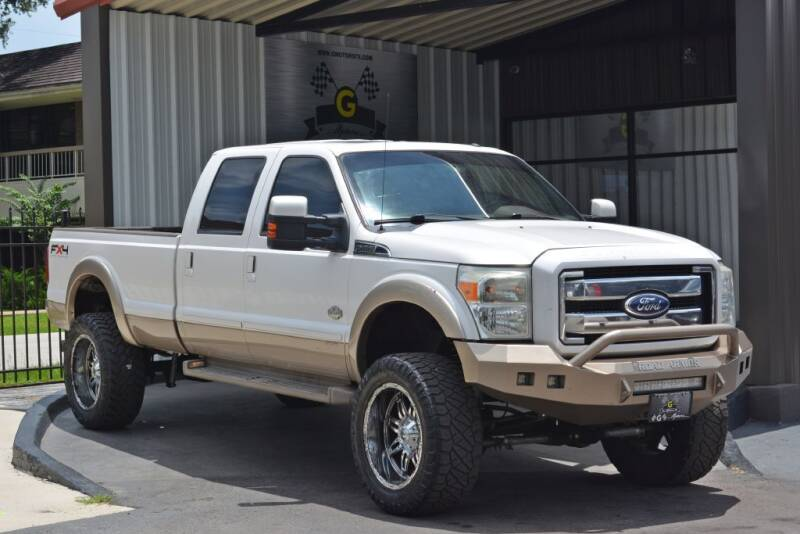 2011 Ford F-350 Super Duty for sale at G MOTORS in Houston TX