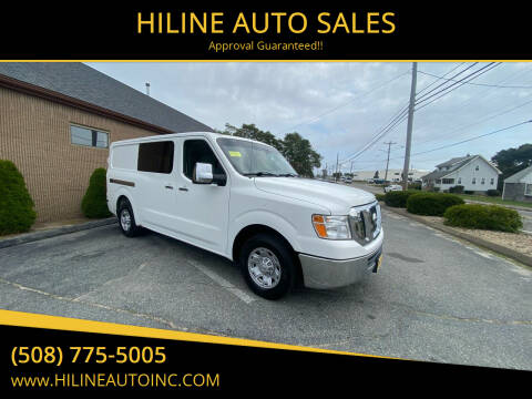 2012 Nissan NV Cargo for sale at HILINE AUTO SALES in Hyannis MA