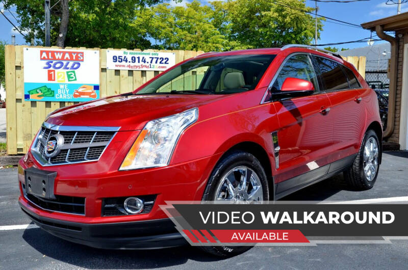 2010 Cadillac SRX for sale at ALWAYSSOLD123 INC in Fort Lauderdale FL