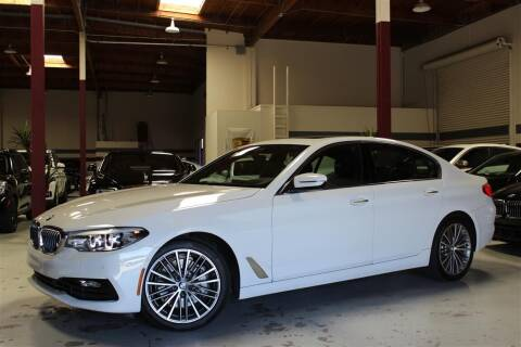 2017 BMW 5 Series for sale at SELECT MOTORS in San Mateo CA