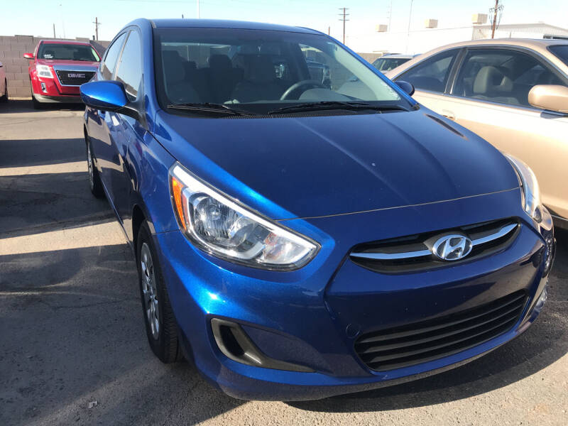 2015 Hyundai Accent for sale at Town and Country Motors in Mesa AZ