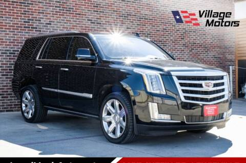 2017 Cadillac Escalade for sale at Village Motors in Lewisville TX