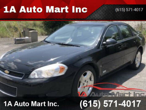 2008 Chevrolet Impala for sale at 1A Auto Mart Inc in Smyrna TN