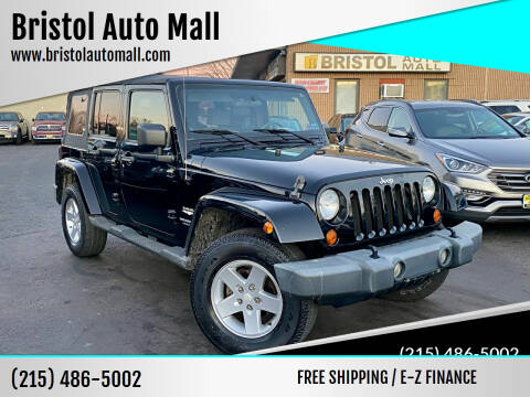 2007 Jeep Wrangler Unlimited for sale at Bristol Auto Mall in Levittown PA