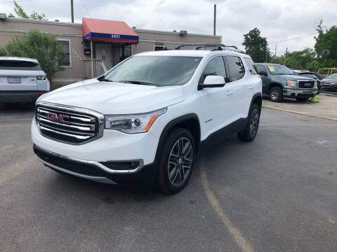 2019 GMC Acadia for sale at Saipan Auto Sales in Houston TX