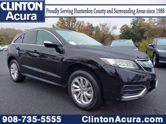 2018 Acura RDX for sale at Clinton Acura used in Clinton NJ