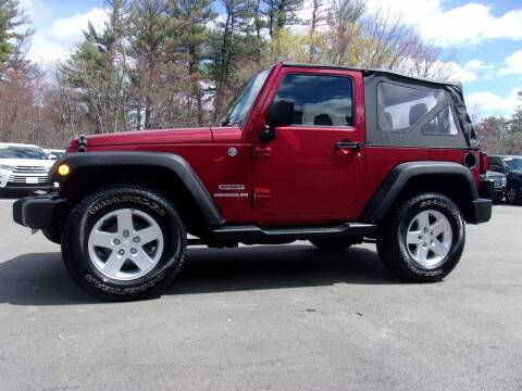 2013 Jeep Wrangler for sale at Mark's Discount Truck & Auto Sales in Londonderry NH