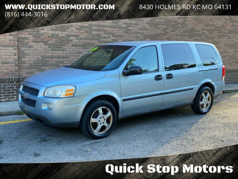 2007 Chevrolet Uplander for sale at Quick Stop Motors in Kansas City MO