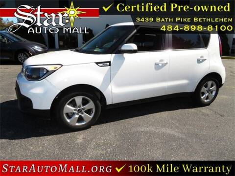 2018 Kia Soul for sale at STAR AUTO MALL 512 in Bethlehem PA