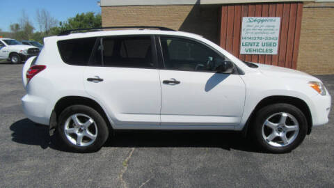 2010 Toyota RAV4 for sale at LENTZ USED VEHICLES INC in Waldo WI