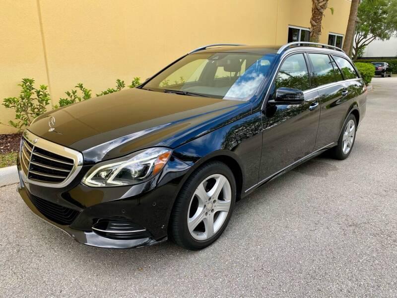 2014 Mercedes-Benz E-Class for sale at DENMARK AUTO BROKERS in Riviera Beach FL