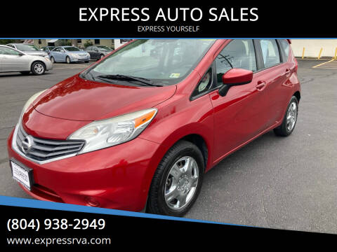 2015 Nissan Versa Note for sale at EXPRESS AUTO SALES in Midlothian VA
