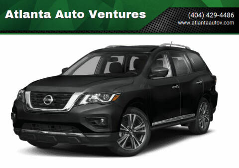 2020 Nissan Pathfinder for sale at Atlanta Auto Ventures in Roswell GA