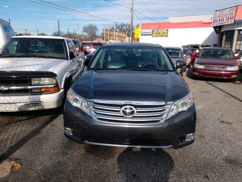 2011 Toyota Avalon for sale at Jimmys Auto INC in Washington DC