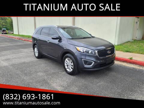 2016 Kia Sorento for sale at TITANIUM AUTO SALE in Houston TX