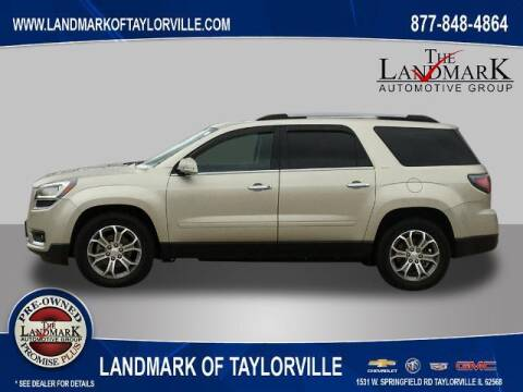 2014 GMC Acadia for sale at LANDMARK OF TAYLORVILLE in Taylorville IL