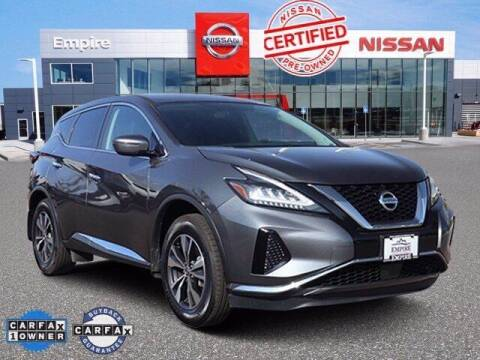 2020 Nissan Murano for sale at EMPIRE LAKEWOOD NISSAN in Lakewood CO