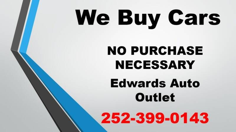We Buy Cars Trucks and SUV's for sale at Edwards Auto Outlet Inc. in Wilson NC