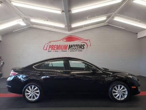 2012 Mazda MAZDA6 for sale at Premium Motors in Villa Park IL