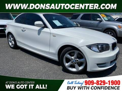 2011 BMW 1 Series for sale at Dons Auto Center in Fontana CA