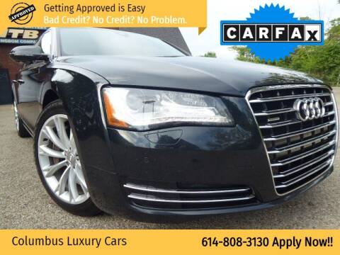 2011 Audi A8 for sale at Columbus Luxury Cars in Columbus OH