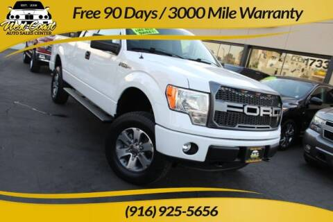 2013 Ford F-150 for sale at West Coast Auto Sales Center in Sacramento CA