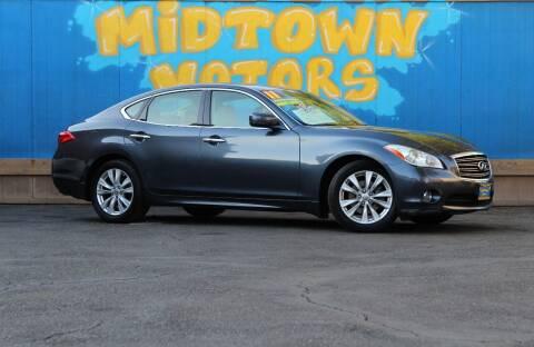 2011 Infiniti M37 for sale at Midtown Motors in San Jose CA