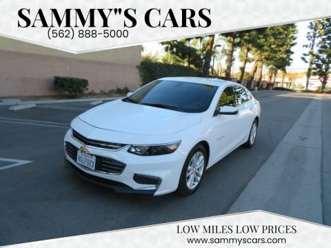 "2018 Chevrolet Malibu for sale at SAMMY""S CARS in Bellflower CA"