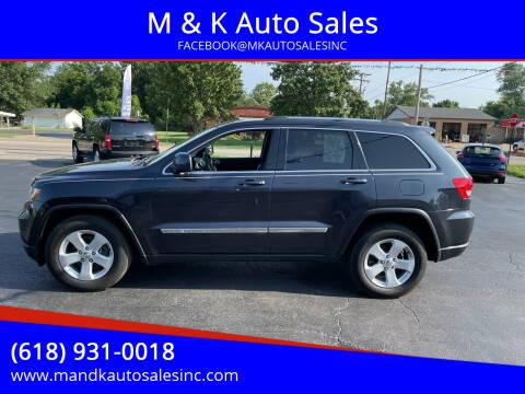 2013 Jeep Grand Cherokee for sale at M & K Auto Sales in Granite City IL