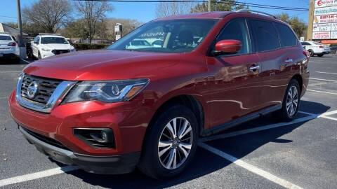 2017 Nissan Pathfinder for sale at T.S. IMPORTS INC in Houston TX