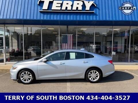 2017 Chevrolet Malibu for sale at Terry of South Boston in South Boston VA