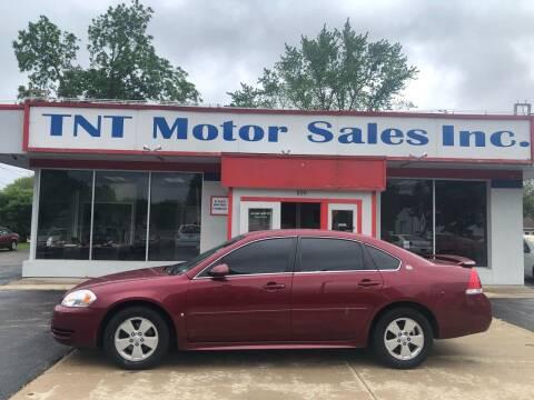 2008 Chevrolet Impala for sale at TNT Motor Sales in Oregon IL