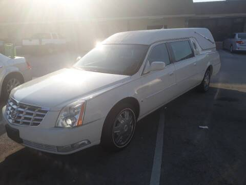 2008 Cadillac Deville Professional for sale at LAND & SEA BROKERS INC in Deerfield FL