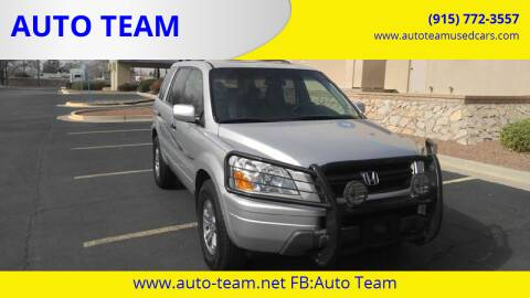 2005 Honda Pilot for sale at AUTO TEAM in El Paso TX