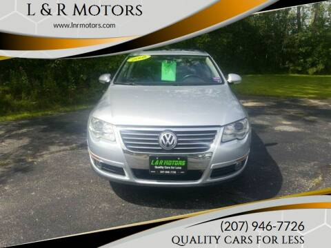 2008 Volkswagen Passat for sale at L & R Motors in Greene ME