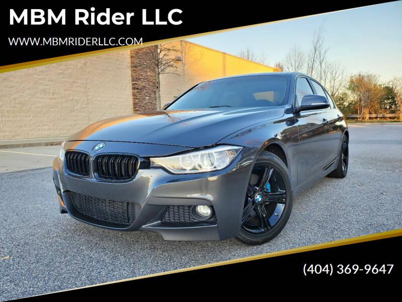 2015 BMW 3 Series for sale at MBM Rider LLC in Alpharetta GA