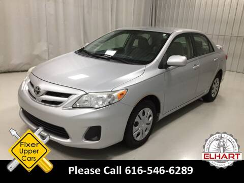 2011 Toyota Corolla for sale at Elhart Automotive Campus in Holland MI