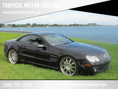 2006 Mercedes-Benz SL-Class for sale at TROPICAL MOTOR CARS INC in Miami FL