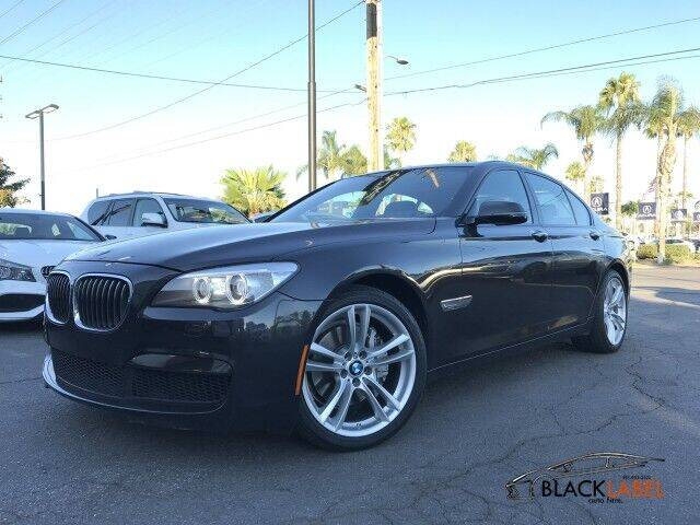 2015 BMW 7 Series for sale at BLACK LABEL AUTO FIRM in Riverside CA