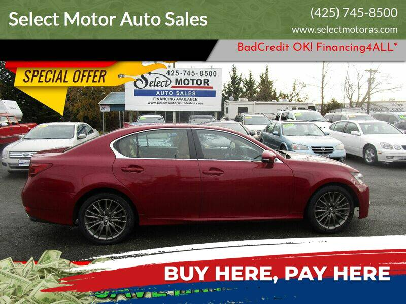 2013 Lexus GS 350 for sale at Select Motor Auto Sales in Lynnwood WA