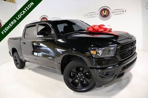 2019 RAM Ram Pickup 1500 for sale at Unlimited Motors in Fishers IN