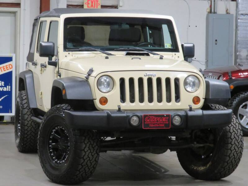 2011 Jeep Wrangler Unlimited for sale at CarPlex in Manassas VA