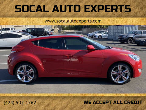 2013 Hyundai Veloster for sale at SoCal Auto Experts in Culver City CA