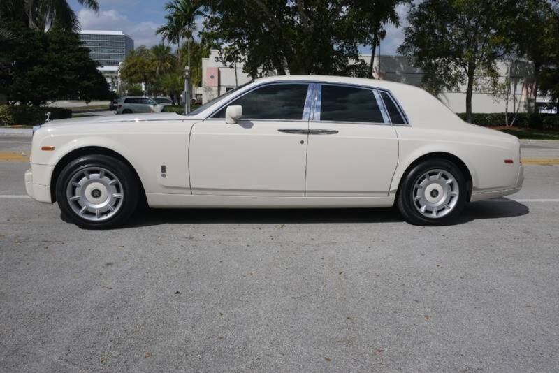 2004 Rolls-Royce Phantom for sale at PERFORMANCE AUTO WHOLESALERS in Miami FL
