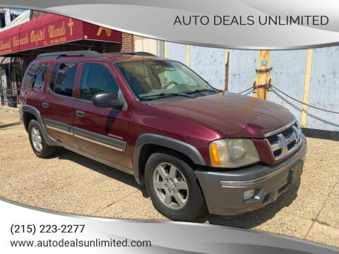 2005 Isuzu Ascender for sale at AUTO DEALS UNLIMITED in Philadelphia PA