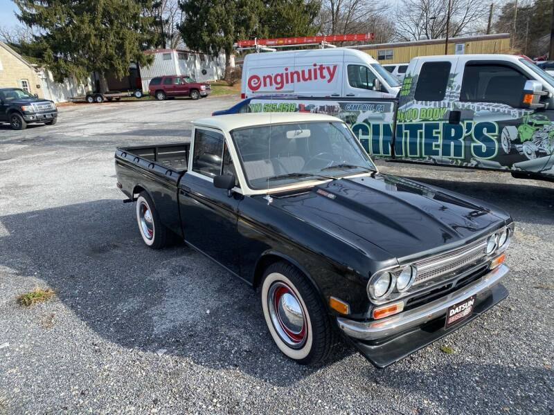1971 Nissan Pickup for sale at Ginters Auto Sales in Camp Hill PA