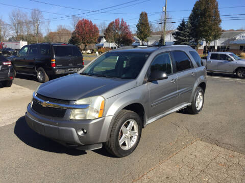 2005 Chevrolet Equinox for sale at Candlewood Valley Motors in New Milford CT