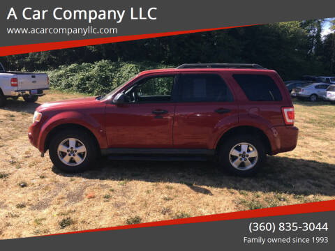 2011 Ford Escape for sale at A Car Company LLC in Washougal WA