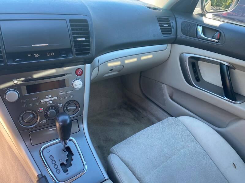2008 Subaru Legacy AWD 2.5i 4dr Sedan 4A - Bethlehem PA