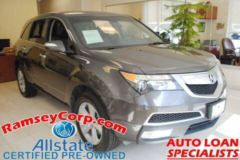 2010 Acura MDX for sale at Ramsey Corp. in West Milford NJ